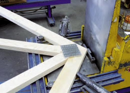 Multi Head Truss Press Nail Plate