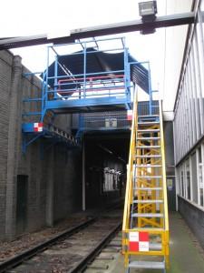 Bespoke Roof Access Platform for Rail